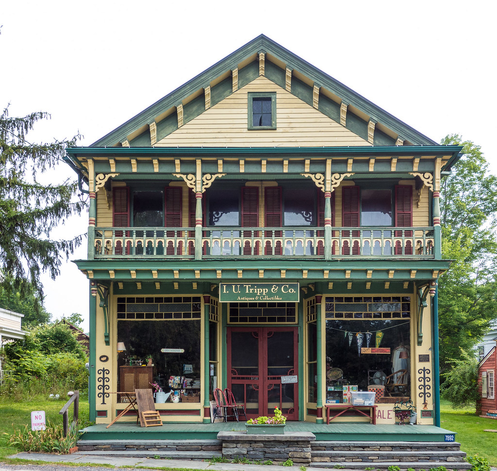 Tripp Store, Durham NY, 1888 | Tripp House and Store ...