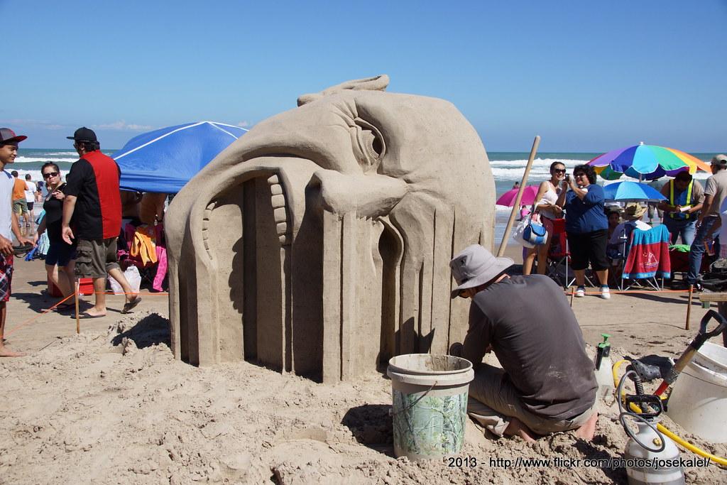 Treasure Island Sand Castle