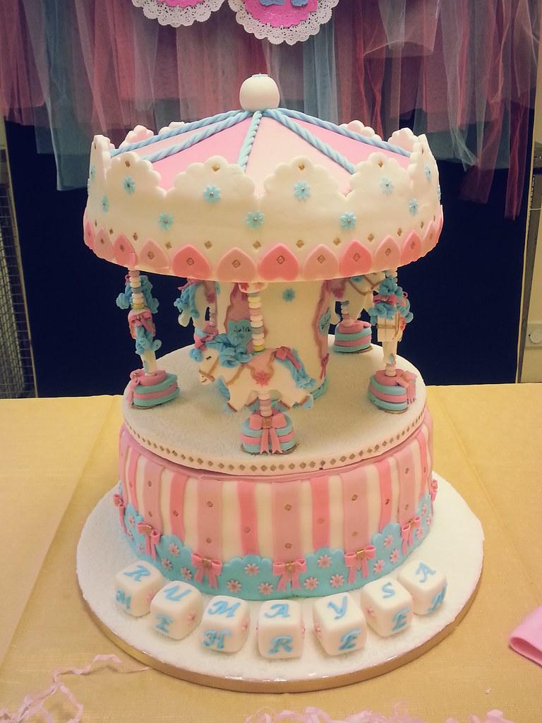 Cake Images With Name Kamal : Carousel Cake by The Little Cake Tin (@littlecaketinuk ...