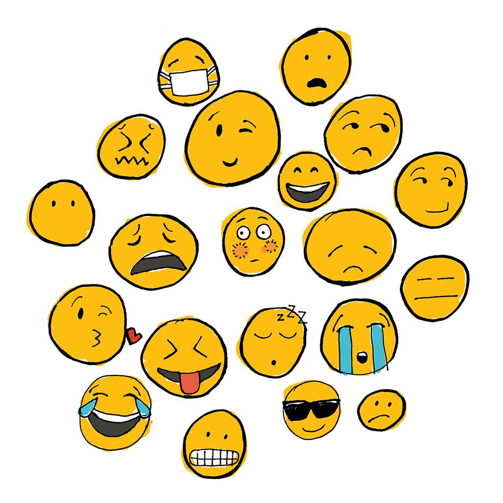 emoji family emoji family original hand drawn illustrati flickr