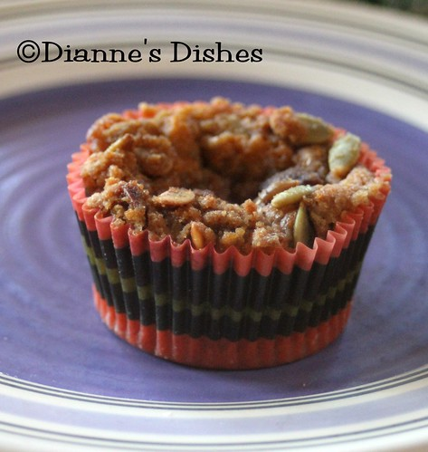 Pumpkin Banana Muffins | by Dianne's Dishes