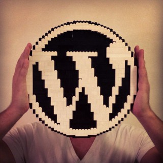 WordPress logo in LEGO - ze inst4gr4m sh0t | by Bohman