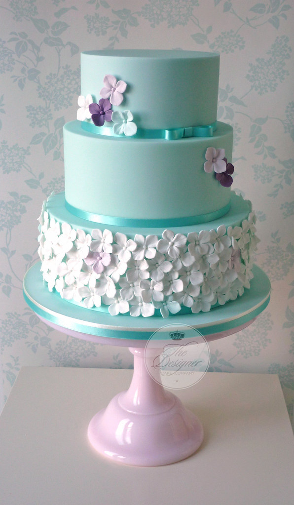 blue hydrangea wedding cakes blue hydrangea wedding cake isabelle bambridge 11991