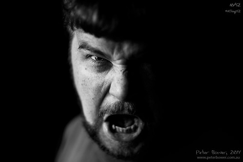 10/52 --- Angry Man [Red] | by Peter Bower