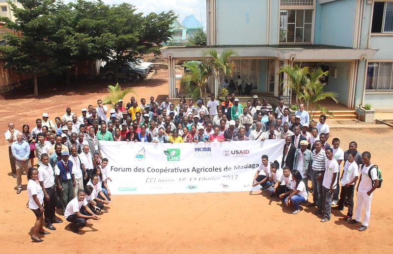 Forum des coopératives à Madagascar