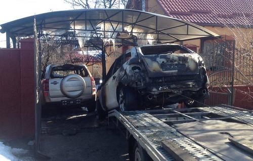 Згорілі авто