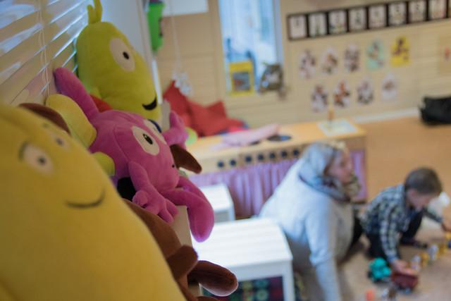 Nynorske barnehagar stimulerer barn på bokmål