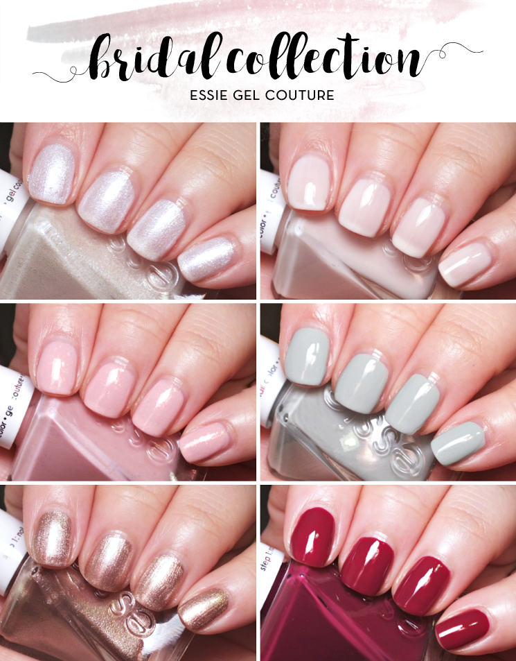 essie gel couture bridal collection 2017 (2)