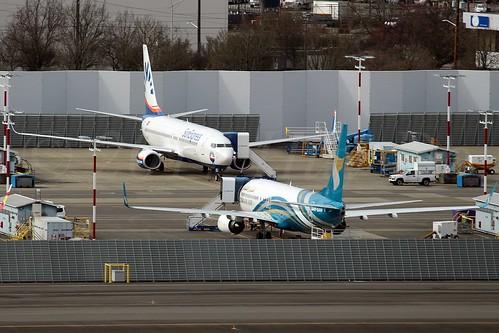 Boeing 737-800(WL) SunExpress TC-SOC & Oman Air A4O-BAH