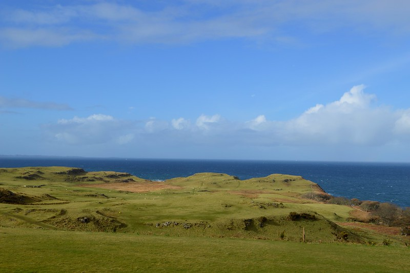 This is a picture of the coastline on the isle of mull