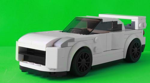 My Nissan Skyline R35 as a Speed Champions car