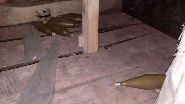 Дві схованки з боєприпасами виявила СБУ в районі АТО_13