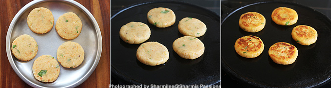 How to make Sweet potato tikki recipe - Step6
