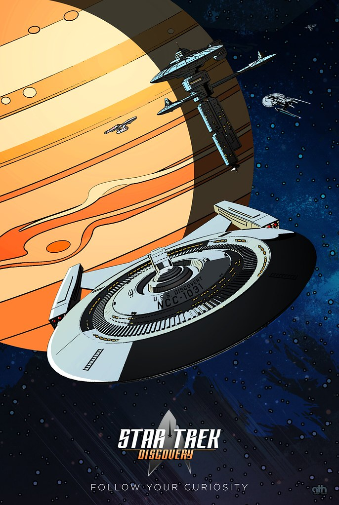 April Star Trek Discovery Poster