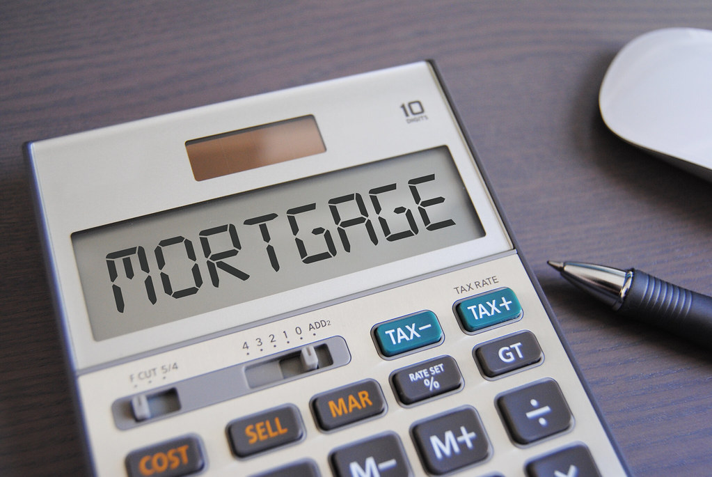 Mortgage Mortgage On Calculator Credit W Flickr