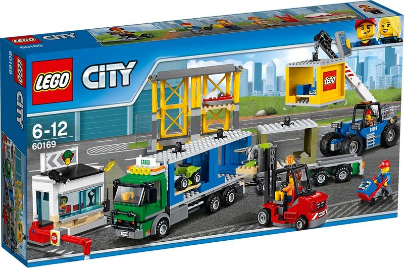 LEGO City Estate 2017 - Freight Terminal (60169)