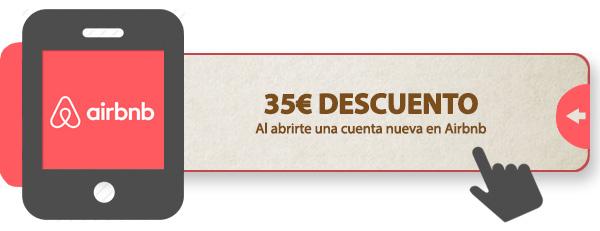 Cupón de 35€ de descuento en Airbnb