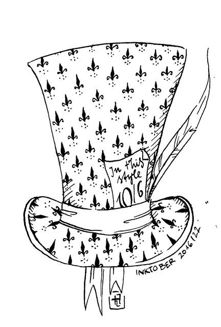 Inktober 2016: In this Style: Fleur de Lis / Hedgefairy Tales