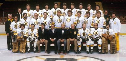 1980-81 Boston Bruins team