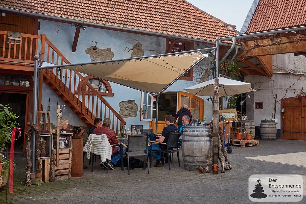 Hof vom Weingut Beyer-Bähr