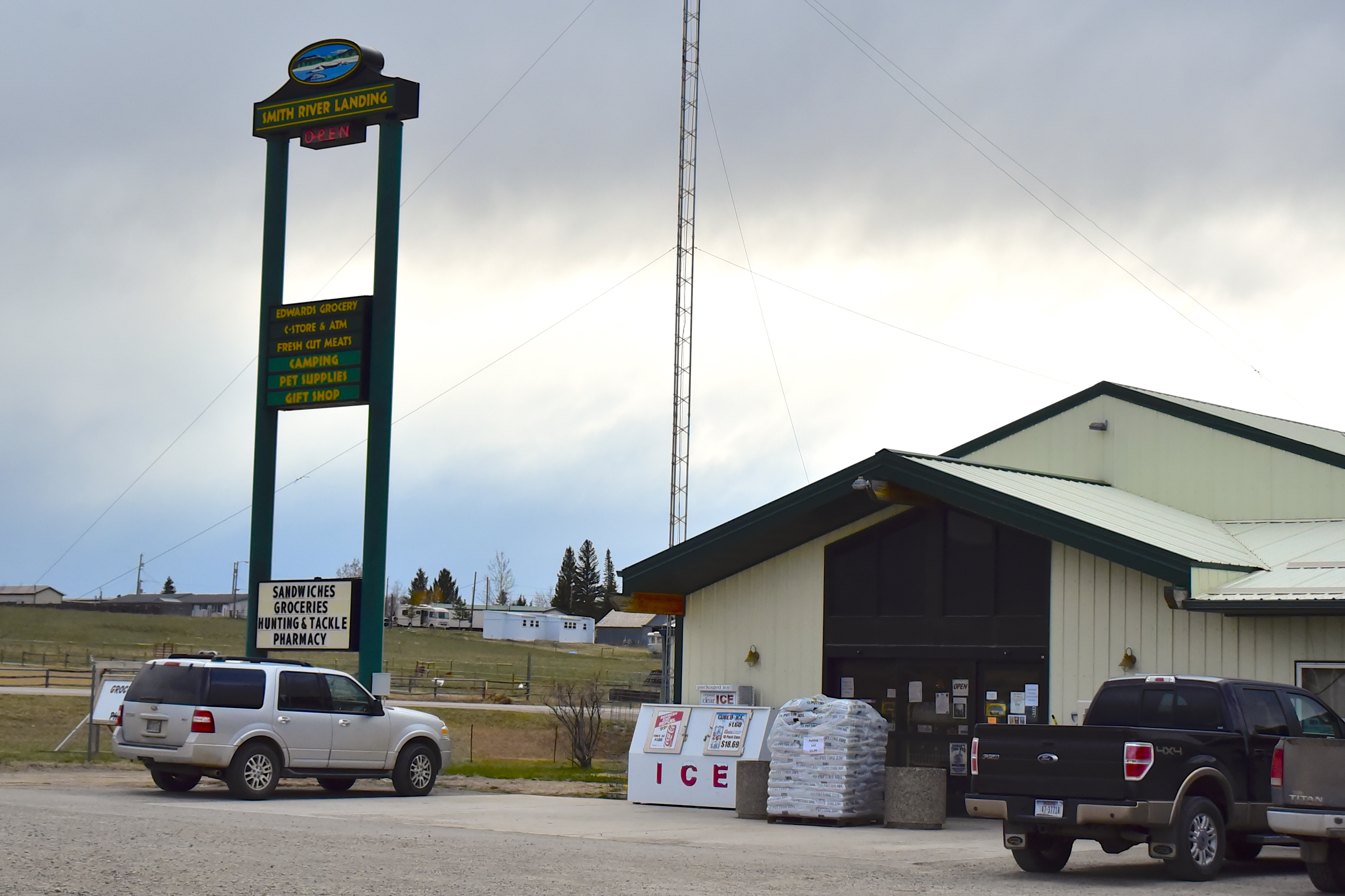 Castle Mountain Grocery Store is located in White Sulphur Springs, Montana on Highway 89.
