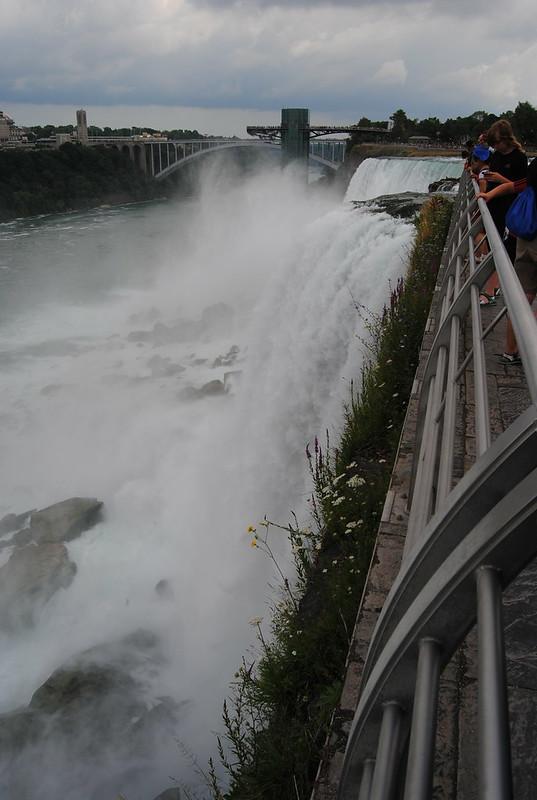 American Falls from Luna Island, Niagara Falls, New York
