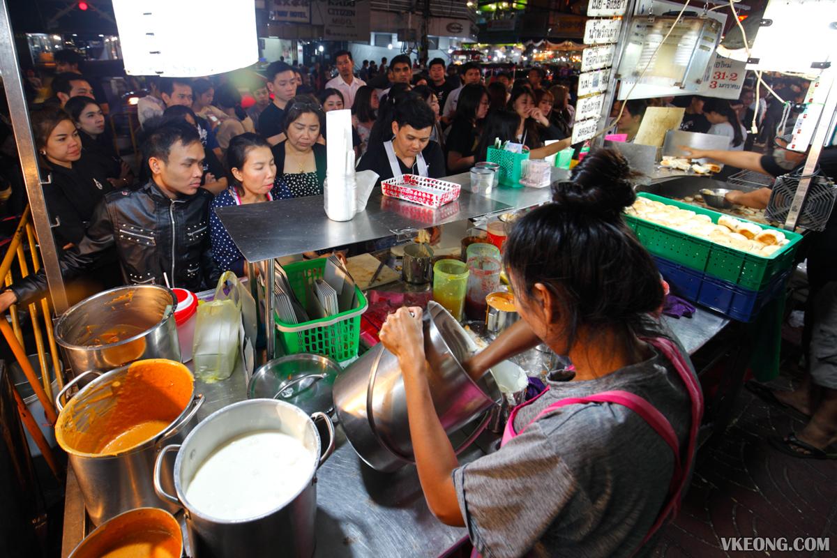 Tasty Toast Stall Bangkok Chinatown