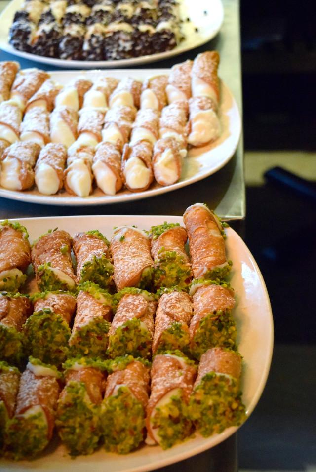 Cannoli at Firezza, Soho | www.rachelphipps.com @rachelphipps