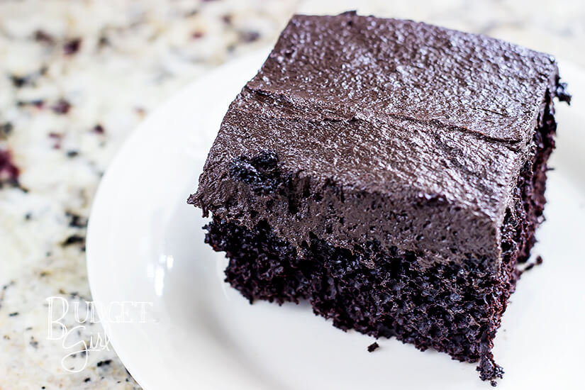 The BEST Dark Chocolate Cream Cheese Frosting