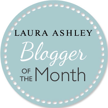 blogger of the month badge | by Vintage Reflection