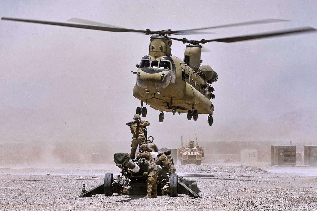 Afghan military hook up