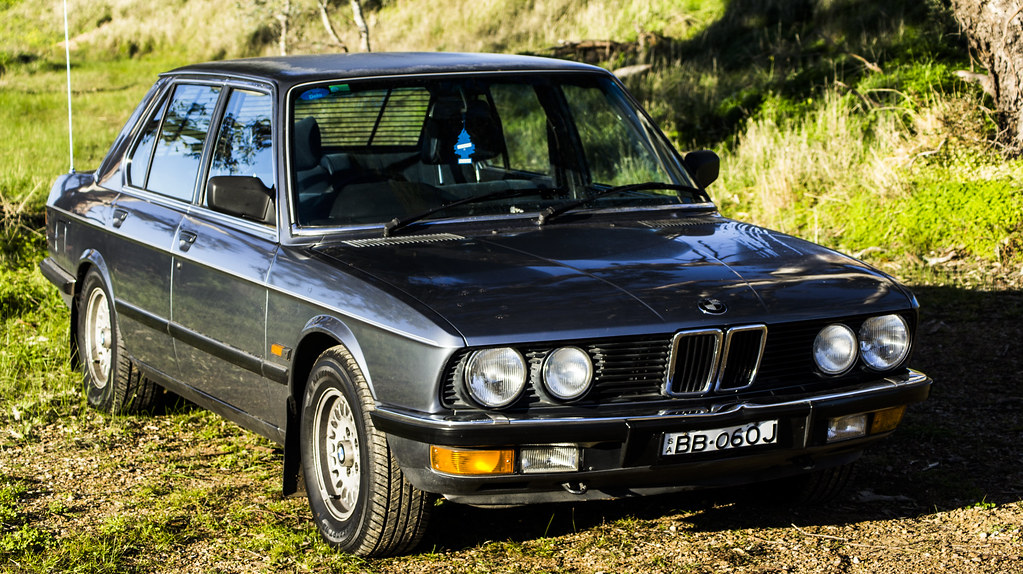 Bmw R >> 1984 BMW 528i | My New Baby! | Thomas Gasson | Flickr