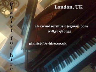 hired to play a steinway! 1 | by Jazz For Hire London