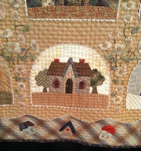 Japanese quilts at houston festival 2013 39 my dream house - Reiko kato patchwork ...