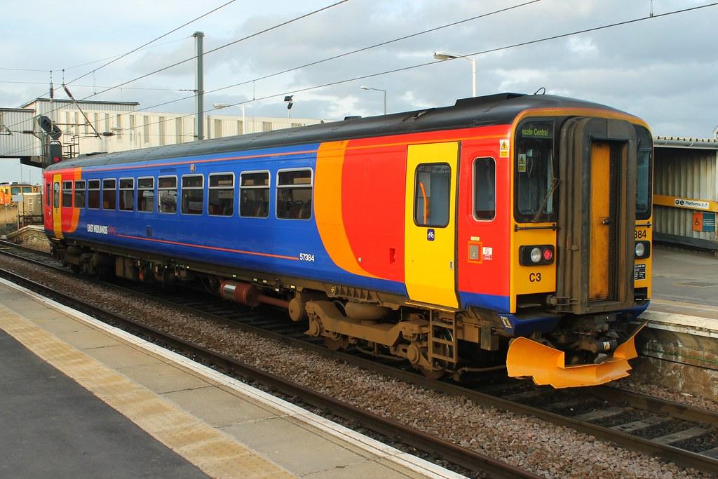Class 153 153384 East Midlands Trains Peterborough Flickr