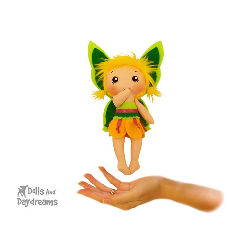 Fluffy Fairy Tinkerbell Sewing Pattern
