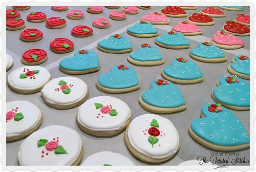 2017 Valentines Cookies