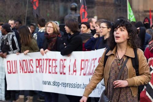 Manifestation contre la répression d'Etat - PPICS