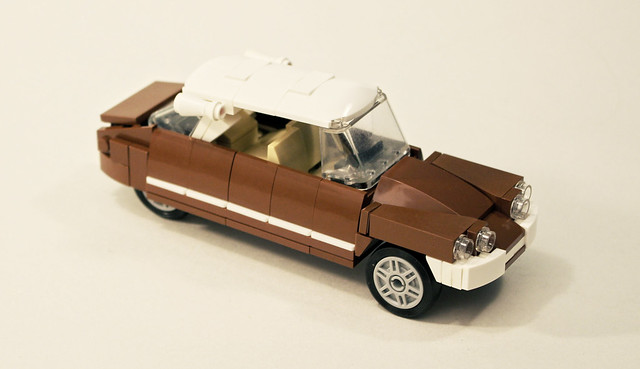 Build Your Own Lego Citro 235 N Ds And Then Drive Your Minifig