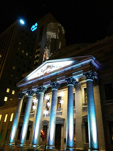 Bank of Montreal Head Office, night
