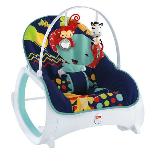 Fisher price rocker midnight silla mecedora vibradora bebe for Silla 3 en 1 fisher price