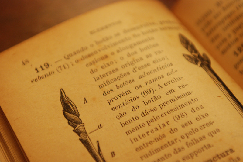 Old botany books