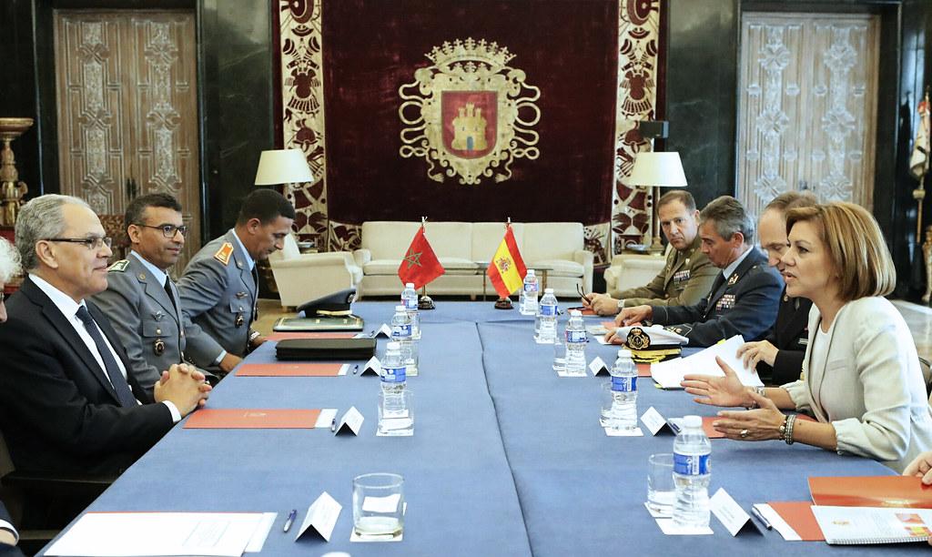 24/04/2017 España y Marruecos estrechan lazos de cooperación en materia de Defensa Foto: Marco A. Romero/MDE