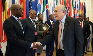 African courtesy visit with OECD Secretary-General Mr Angel Gurría, Paris, OECD Headquarters, 11 April 2017