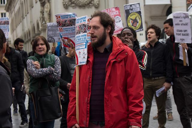 Mobilisation contre le FN à Bruxelles (1)