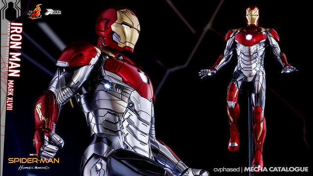 Hot Toys Power Pose Series 1/6 Iron Man Mark 47
