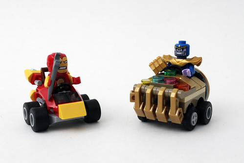 LEGO Marvel Super Heroes Mighty Micros: Iron Man vs. Thanos (76072)