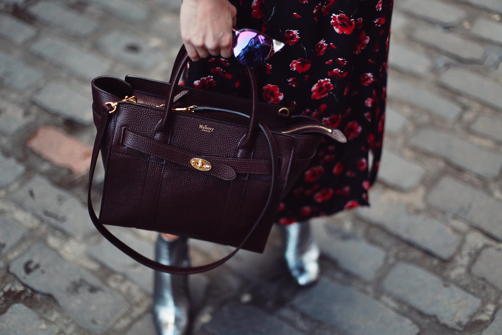 The Little Magpie Mulberry Zipped Bayswater