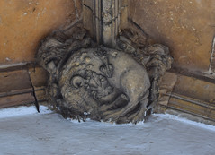 Porch boss: lion (15th Century)