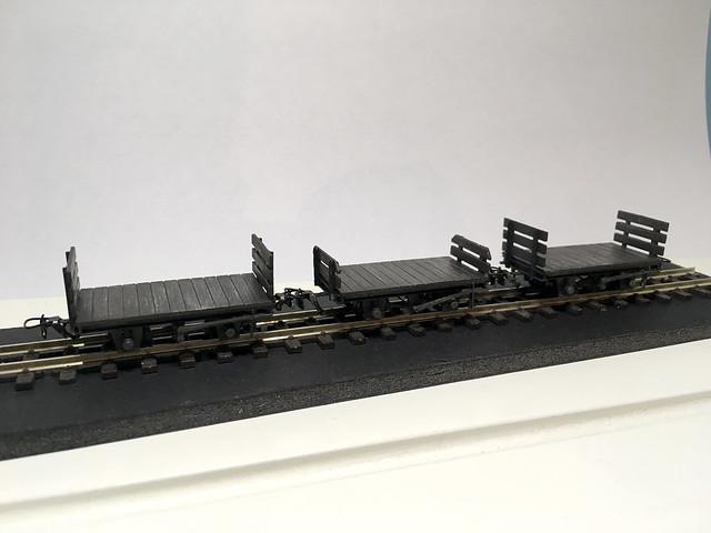 009 Society RNAD flat wagons